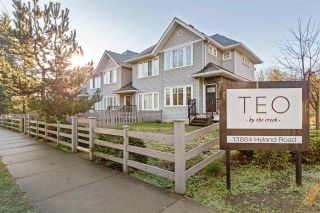 """Photo 2: 19 13864 HYLAND Road in Surrey: East Newton Townhouse for sale in """"TEO"""" : MLS®# R2548136"""