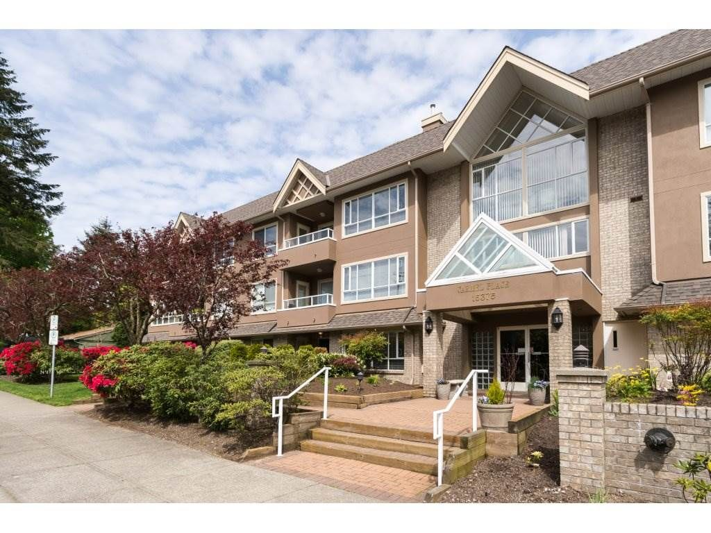 "Main Photo: 204 15375 17 Avenue in Surrey: King George Corridor Condo for sale in ""CARMEL PLACE"" (South Surrey White Rock)  : MLS®# R2164319"