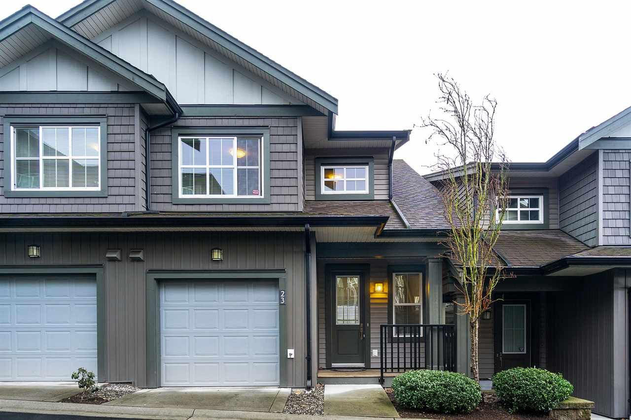 "Main Photo: 23 11176 GILKER HILL Road in Maple Ridge: Cottonwood MR Townhouse for sale in ""kanaka creek"" : MLS®# R2554286"
