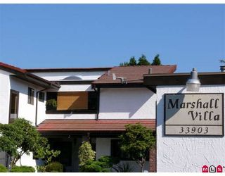 "Photo 1: 3 33903 MARSHALL Road in Abbotsford: Central Abbotsford Townhouse for sale in ""MARSHALL VILLAS"" : MLS®# F2824518"