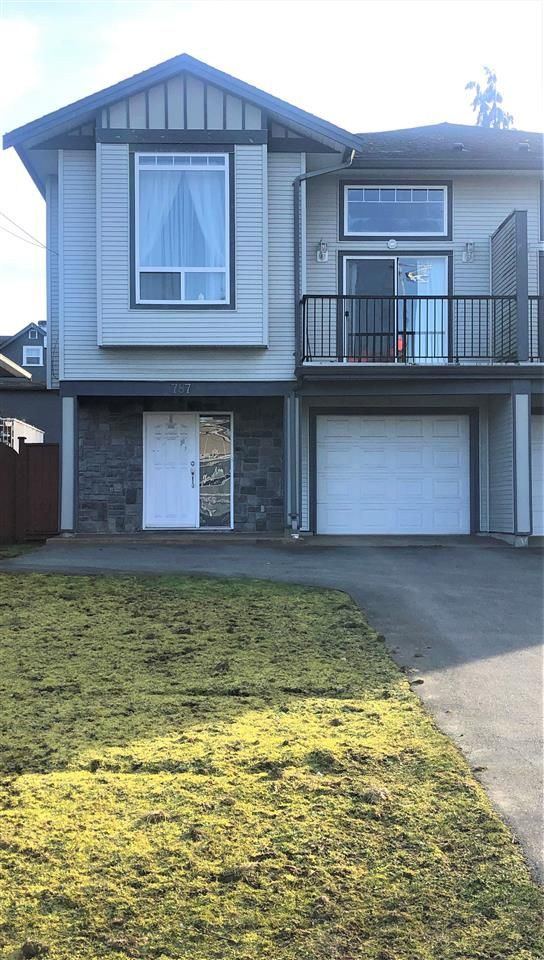 Main Photo: 787 DOGWOOD Street in Coquitlam: Coquitlam West 1/2 Duplex for sale : MLS®# R2437263