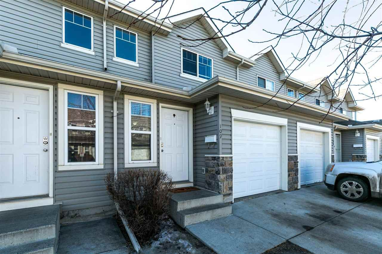 Main Photo: 109 230 EDWARDS Drive SW in Edmonton: Zone 53 Townhouse for sale : MLS®# E4233682