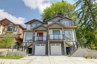 Photo 1: 1377 HAMES Crescent in Coquitlam: Burke Mountain 1/2 Duplex for sale : MLS®# R2506150
