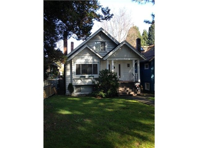 Main Photo: 425 W 17TH Avenue in Vancouver: Cambie House for sale (Vancouver West)  : MLS®# V1108242