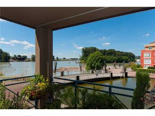 """Photo 1: # 204 2 RENAISSANCE SQ in New Westminster: Quay Condo for sale in """"THE LIDO"""" : MLS®# V1018101"""