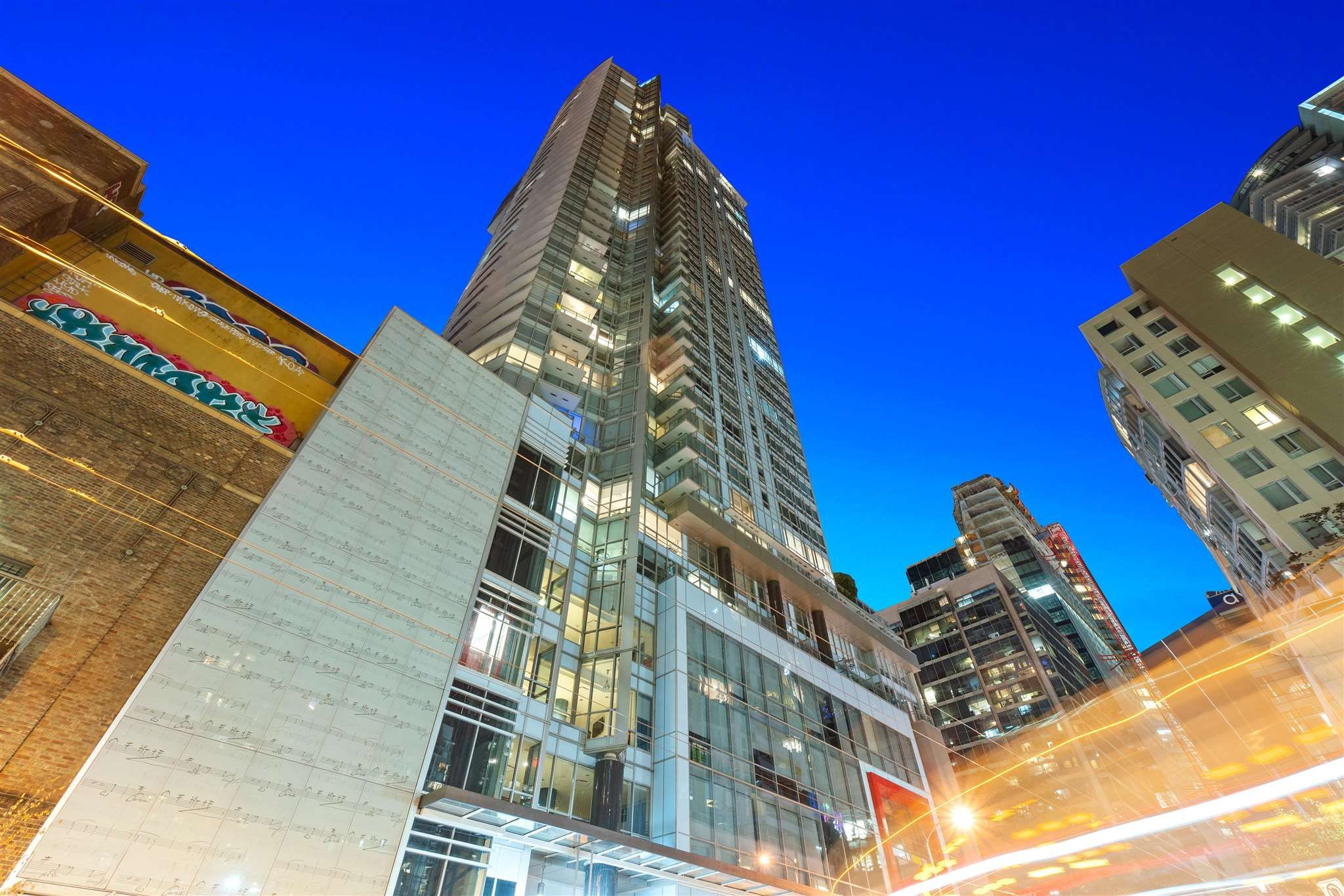 Main Photo: 2805 833 SEYMOUR STREET in Vancouver: Downtown VW Condo for sale (Vancouver West)  : MLS®# R2606534