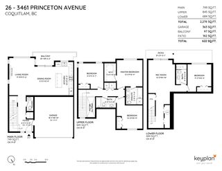 """Photo 32: 26 3461 PRINCETON Avenue in Coquitlam: Burke Mountain Townhouse for sale in """"BRIDLEWOOD"""" : MLS®# R2500651"""
