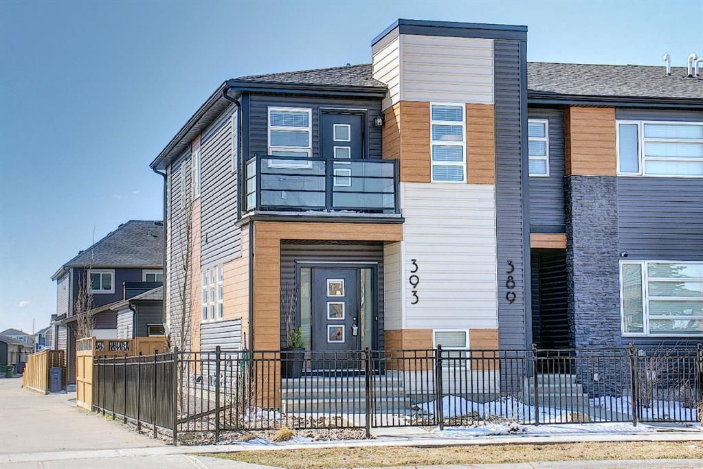 Main Photo: 393 Midtown Gate SW: Airdrie Row/Townhouse for sale : MLS®# A1097353
