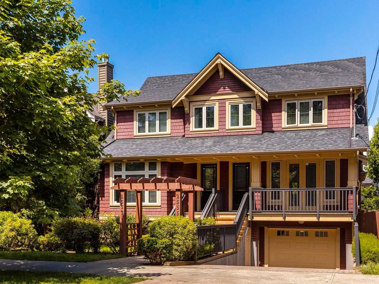 Main Photo: 2555 W 8TH AVENUE in Vancouver: Kitsilano 1/2 Duplex for sale (Vancouver West)  : MLS®# R2602597