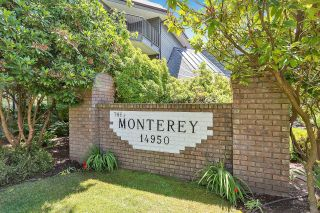 """Photo 1: 303 14950 THRIFT Avenue: White Rock Condo for sale in """"THE MONTEREY"""" (South Surrey White Rock)  : MLS®# R2598221"""