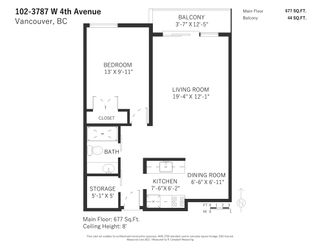"""Photo 21: 102 3787 W 4TH Avenue in Vancouver: Point Grey Condo for sale in """"ANDREA APARTMENTS"""" (Vancouver West)  : MLS®# R2594151"""
