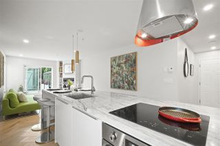 "Photo 3: 101 2195 W 5TH Avenue in Vancouver: Kitsilano Condo for sale in ""HEARTHSTONE"" (Vancouver West)  : MLS®# R2409002"