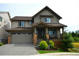 """Photo 1: 1459 NANTON Street in Coquitlam: Burke Mountain House for sale in """"FOOTHILLS"""" : MLS®# V1024544"""