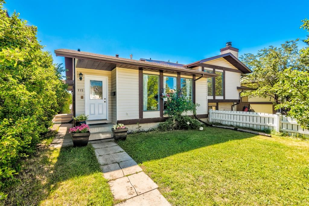 Main Photo: 115 Ranch Glen Place NW in Calgary: Ranchlands Semi Detached for sale : MLS®# A1126339