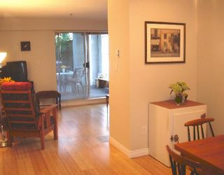 """Photo 5: 107 1465 COMOX Street in Vancouver: West End VW Condo for sale in """"BRIGHTON COURT"""" (Vancouver West)  : MLS®# V655109"""
