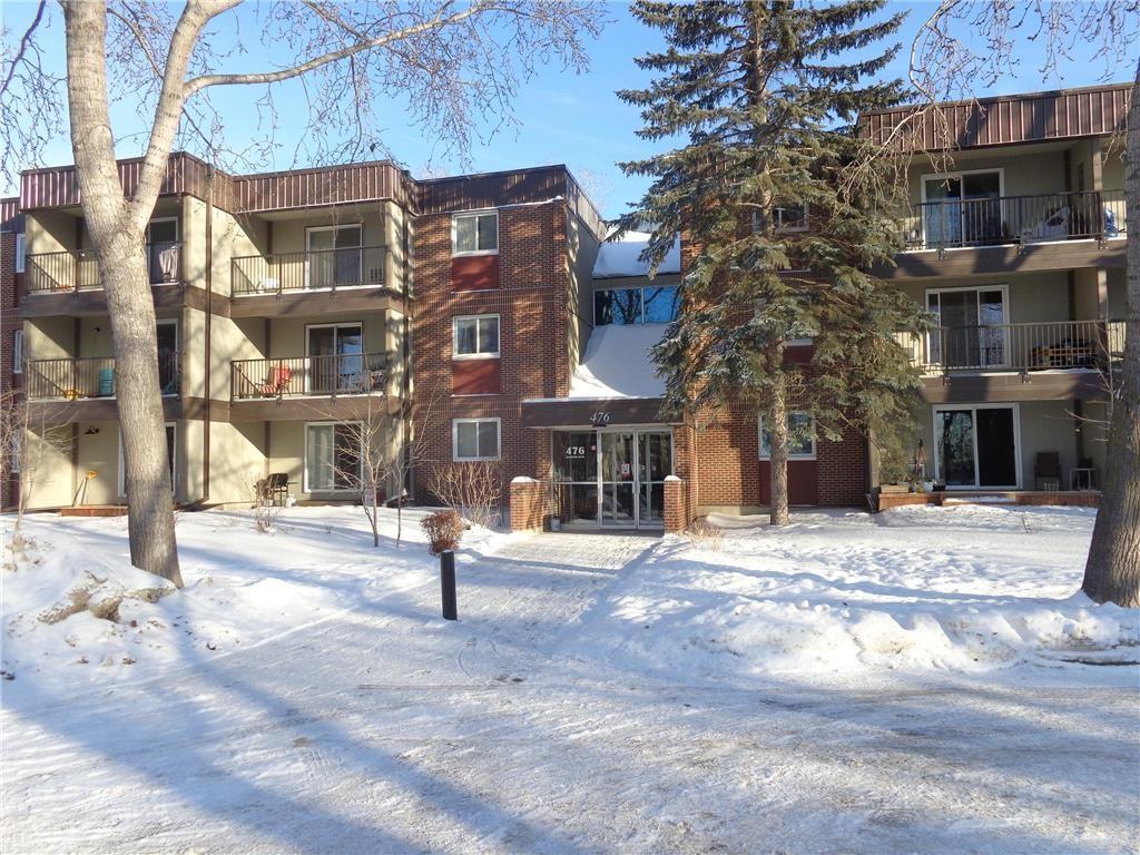 Main Photo: 302 476 Kenaston Boulevard in Winnipeg: River Heights Condominium for sale (1D)  : MLS®# 202101060