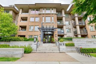 """Photo 1: 210 3105 LINCOLN Avenue in Coquitlam: New Horizons Condo for sale in """"LARKIN HOUSE"""" : MLS®# R2617801"""