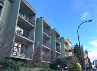 """Photo 1: 201 1215 PACIFIC Street in Vancouver: West End VW Condo for sale in """"1215 PACIFIC"""" (Vancouver West)  : MLS®# R2525564"""