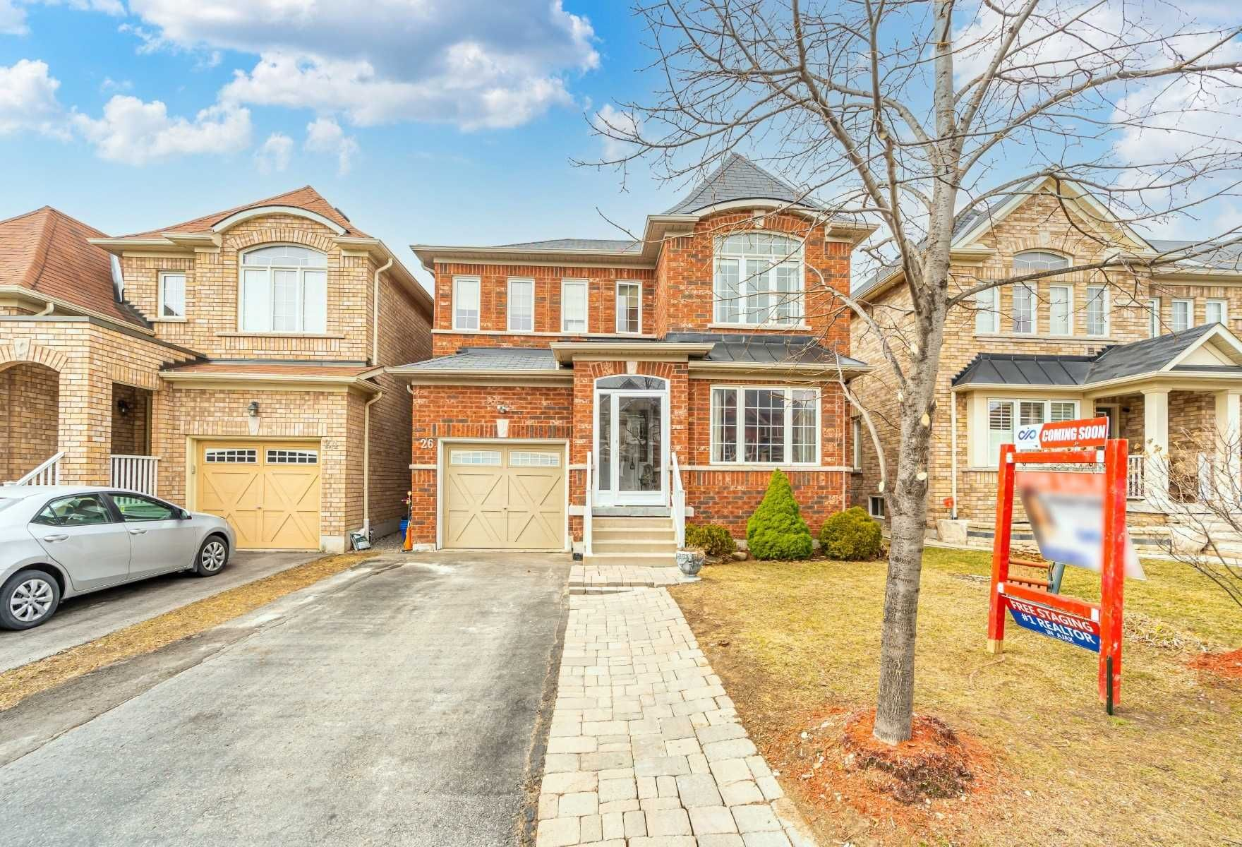 Main Photo: 26 Watersplace Avenue in Ajax: Northeast Ajax House (2-Storey) for sale : MLS®# E5166954