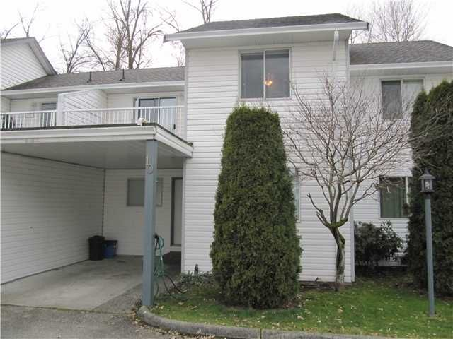 Main Photo: 10 12075 207A Street in Maple Ridge: Northwest Maple Ridge Townhouse for sale : MLS®# V935682