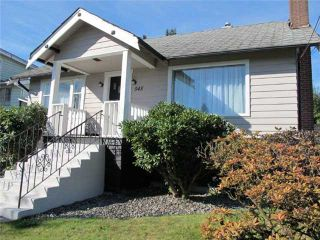 Photo 1: 545 E COLUMBIA Street in New Westminster: The Heights NW House for sale : MLS®# V915594