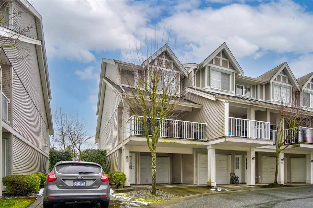 """Main Photo: 11 6555 192A Street in Surrey: Clayton Townhouse for sale in """"Carlisle"""" (Cloverdale)  : MLS®# R2533647"""