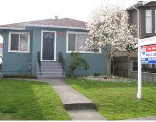 Photo 1: 6483 SOPHIA Street in Vancouver: Main House for sale (Vancouver East)  : MLS®# V700203