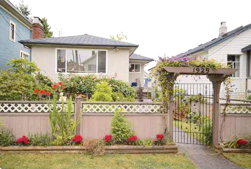 Main Photo: 1929 E GEORGIA Street in Vancouver: Hastings House for sale (Vancouver East)  : MLS®# R2150079