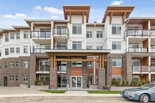 """Main Photo: 218 5415 BRYDON Crescent in Langley: Langley City Condo for sale in """"THE AUDLEY"""" : MLS®# R2600232"""
