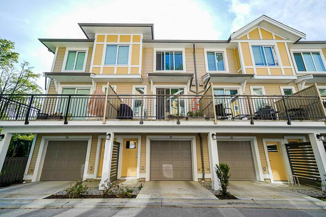 Main Photo: 23 9688 162A Street in Surrey: Fleetwood Tynehead Townhouse for sale : MLS®# R2581863