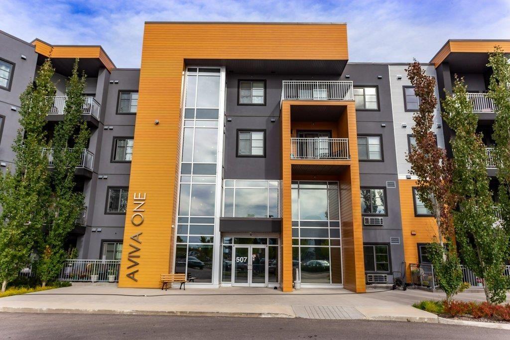 Main Photo: 413 507 ALBANY Way in Edmonton: Zone 27 Condo for sale : MLS®# E4264488