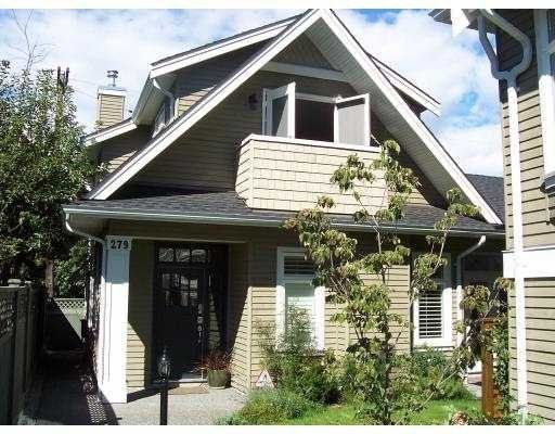 Main Photo: 279 West 16th Avenue in Vancouver: Home for sale : MLS®# V554778