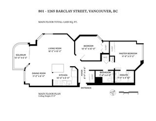 """Photo 38: 801 1265 BARCLAY Street in Vancouver: West End VW Condo for sale in """"The Dorchester"""" (Vancouver West)  : MLS®# R2518947"""
