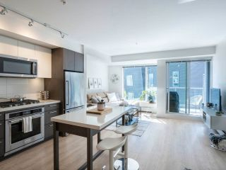 """Photo 1: 520 384 E 1ST Avenue in Vancouver: Strathcona Condo for sale in """"Canvas"""" (Vancouver East)  : MLS®# R2568720"""