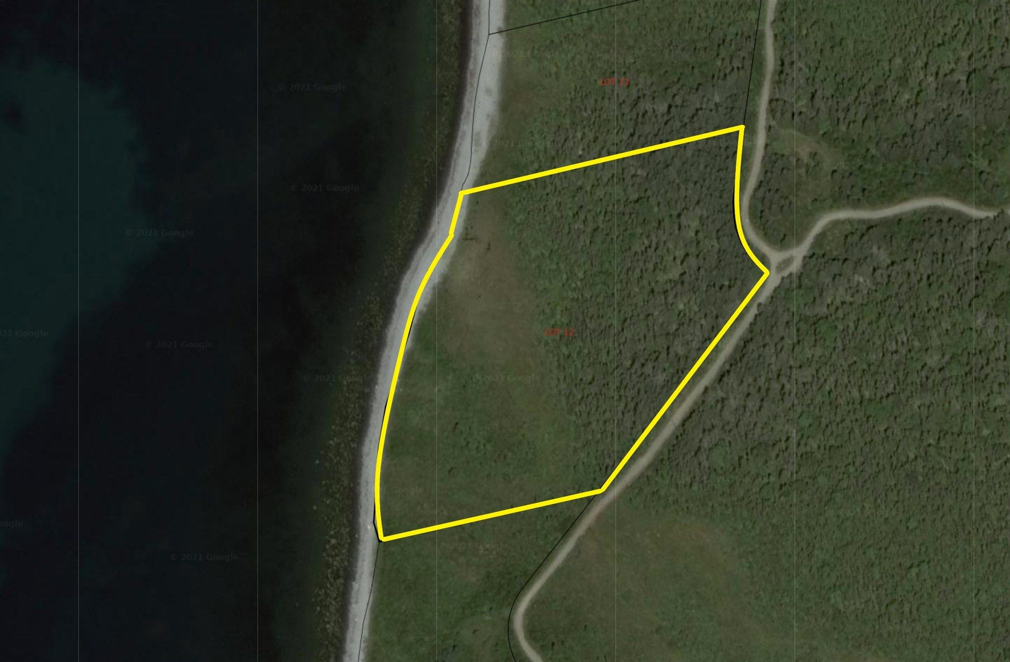 Main Photo: Lot 12 Youngs Road in East Green Harbour: 407-Shelburne County Vacant Land for sale (South Shore)  : MLS®# 202105631
