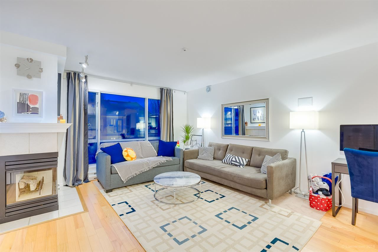"""Main Photo: 313 789 W 16TH Avenue in Vancouver: Fairview VW Condo for sale in """"SIXTEEN WILLOWS"""" (Vancouver West)  : MLS®# R2354520"""
