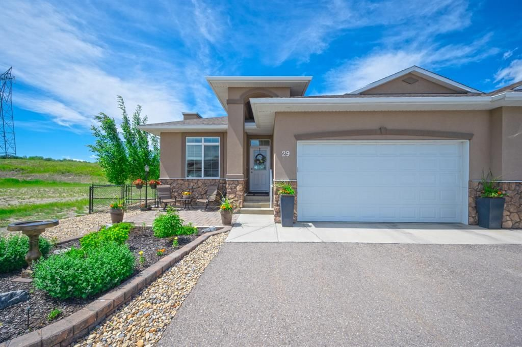 Main Photo: 29 River Heights View: Cochrane Semi Detached for sale : MLS®# A1121113