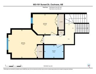 Photo 50: 603 101 SUNSET Drive: Cochrane Row/Townhouse for sale : MLS®# A1031509
