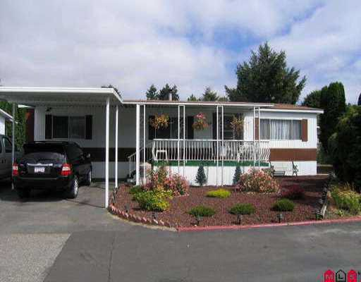 Main Photo: 63 2270 196 STREET in : Brookswood Langley Manufactured Home for sale : MLS®# F2518061