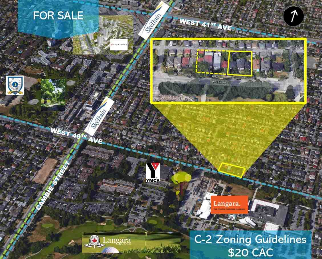 Main Photo: 131 W 49TH Avenue in Vancouver: Oakridge VW Land for sale (Vancouver West)  : MLS®# R2486710