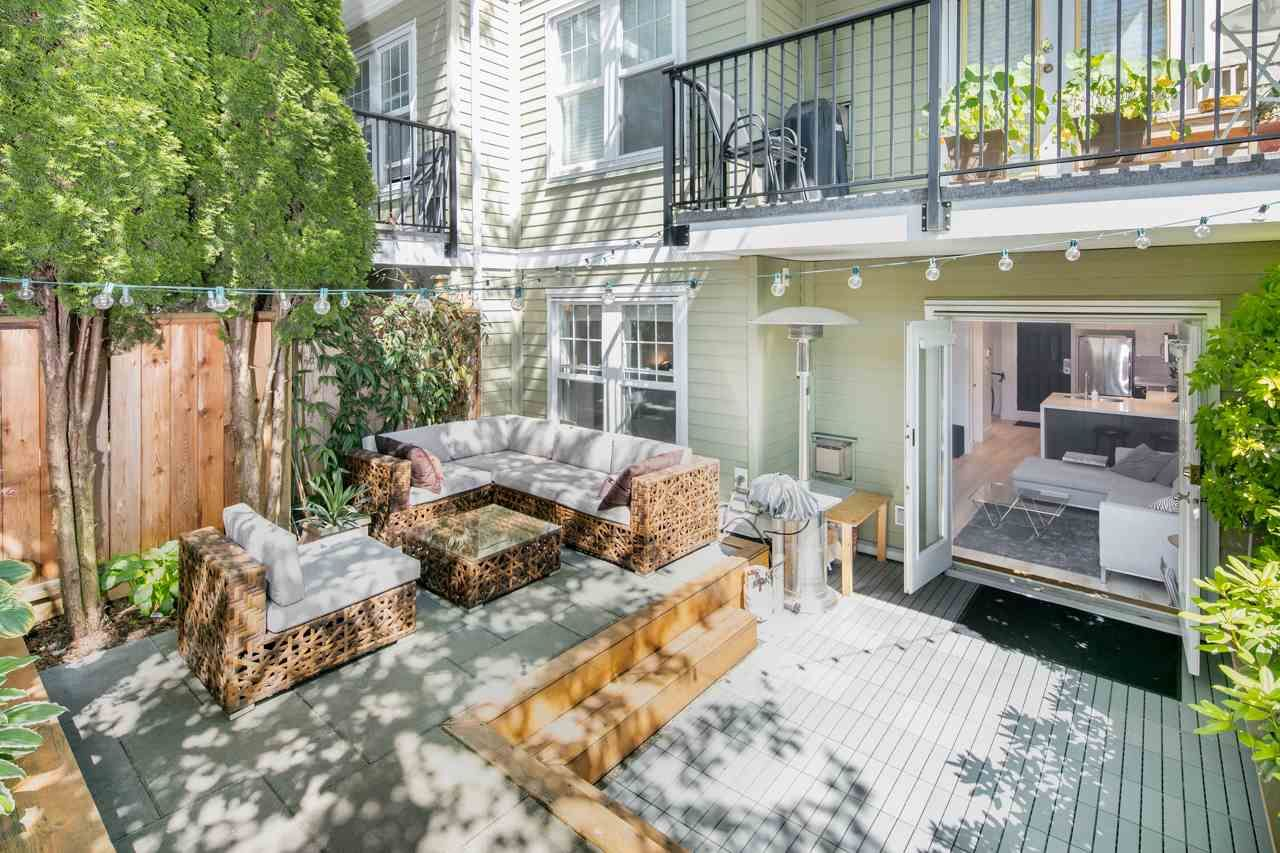 "Main Photo: 103 962 W 16TH Avenue in Vancouver: Cambie Condo for sale in ""Westhaven"" (Vancouver West)  : MLS®# R2173916"