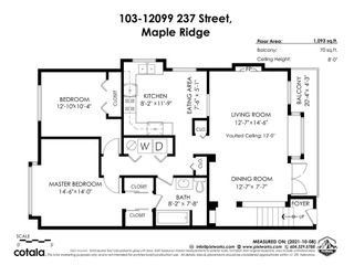 """Photo 32: 103 12099 237 Street in Maple Ridge: East Central Townhouse for sale in """"Gabriola"""" : MLS®# R2624710"""