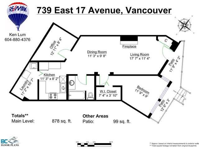 """Photo 2: Photos: 739 E 17TH Avenue in Vancouver: Fraser VE Townhouse for sale in """"KINGSGATE MANOR"""" (Vancouver East)  : MLS®# V1064466"""