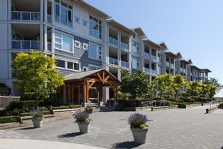 """Photo 1: 109 4600 WESTWATER Drive in Richmond: Steveston South Condo for sale in """"COPPER SKY"""" : MLS®# R2590679"""