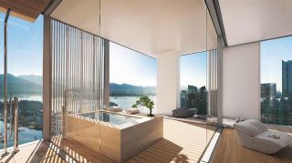 "Photo 5: 3402 1550 ALBERNI Street in Vancouver: West End VW Condo for sale in ""ALBERNI BY KENGO KUMA"" (Vancouver West)  : MLS®# R2509428"