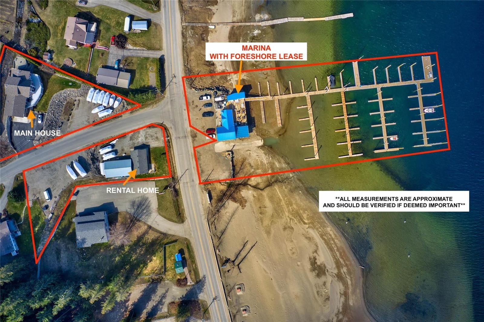 Main Photo: 2886 Marine Drive, in Blind Bay: Business for sale : MLS®# 10229976