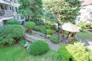 """Photo 1: 205 33401 MAYFAIR Avenue in Abbotsford: Central Abbotsford Condo for sale in """"MAYFAIR GARDENS"""" : MLS®# R2611471"""