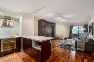 """Photo 1: 206 1545 E 2ND Avenue in Vancouver: Grandview VE Condo for sale in """"TALISHAN WOODS"""" (Vancouver East)  : MLS®# R2231969"""
