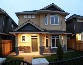 """Photo 1: 6691 BLUNDELL Road in Richmond: Granville House for sale in """"WOODRIDGE MEWS"""" : MLS®# V748358"""