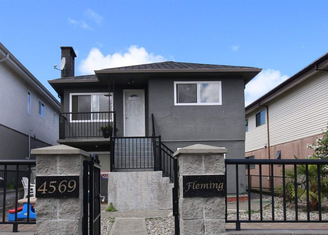 Main Photo: 4569 FLEMING STREET in Vancouver: Knight House for sale (Vancouver East)  : MLS®# R2074289